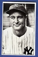 Lou Gehrig Union Novelty Co Postcard New York Yankees