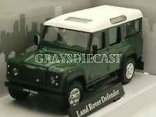 Cararama Land Rover Defender Green  1:43 Scale  model car