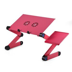 360Degree Adjustable Foldable Laptop Desk Lap Table Bed Pad Tray Computer Stand