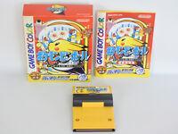 POKEMON PINBALL Pocket Monsters Game Boy Nintendo Japan Game gb