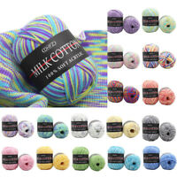 1PC 22 Colors Hat Bamboo Crochet Knitting Line 50g/Roll Cotton Yarn Scarf Soft