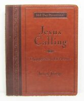NEW Jesus Calling Sarah Young Imitation Leather Devotional Large Print Deluxe