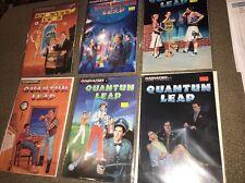 QUANTUM LEAP COMIC BOOK COLLECTION LOT OF 6 COMICS (JD)