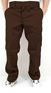 Dickies O Dog 873 Work Pant Stoffhose Chino  dark Braun  44/32