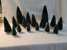 """Dept 56 """"Village Frosted Topiaries, set of 16�, Item #56-52842"""