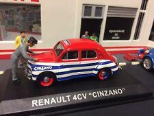 Ixo 1/43 - Renault 4CV Cinzano Tour de Francia
