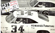Cd_1947 #34 Wendell Scott 1965 Howard Furniture Co Chevy 1:32 Scale Decals