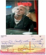 BRUCE DERN   AMERICAN  FILM STAR ACTOR HAND SIGNED BANK CHEQUE / CHECK 1984 RARE