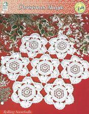 Rolling Snowballs Crochet Pattern - Christmas Magic HOWB Doily Series