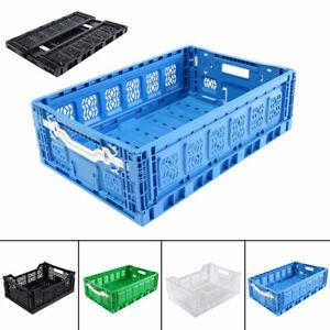 Klappbox Klappkiste Einkaufsbox Faltbox Aufbewahrungsbox Transportbox Stapelbox
