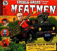 THE MEATMEN -  SAVAGE SAGAS FROM THE MEATMEN CD (2014) US-PUNK / TESCO VEE
