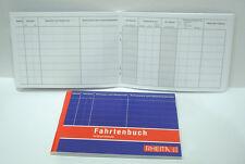 Fahrtenbuch A6 quer 40 Blatt Rheita 5015-2