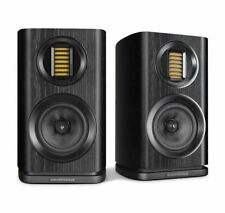 Wharfedale Evo 4.1 Speakers - PAIR Black Bookshelf Loudspeakers