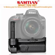 SAMTIAN Batteriegriff Akkugriffe für Nikon D3400 DSLR Kamera BG-2V Battery Grip