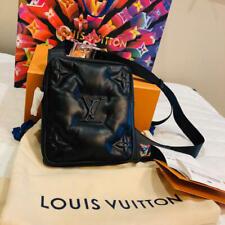 LOUIS VUITTON M68773 Asymmetrical Sling Bag Cross Body 2054 Virgil Black New LV