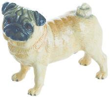 John Beswick Dog Pug Fawn JBD93 Boxed