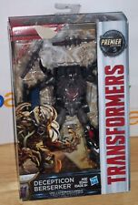 Transformers: The Last Knight Premier Edition Deluxe BERSERKER Action Figure NEW