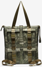 Nike Pocket Tote - Printed Realtree Camo Olive Green - with Padded Laptop Sleeve