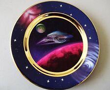 Low #1498A - Rare Star Trek Full Impulse Ships In Motion Plate (Voyager)
