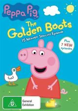 The Peppa Pig - Golden Boots (DVD, 2015)