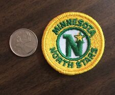 "Vintage Minnesota North Stars NHL Logo / Crest Patch Sew On/Glue On 2""Inch Round"