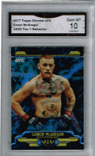 2017 Conor McGregor Topps Chrome Tier One UFC  Gem Mint 10 #ed to 99