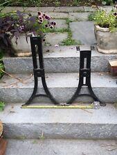 Antique Adjustable Metal & Cast Iron Legs ( Haywood Wakefield - Boston)