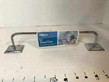 "Vintage EKCO Chrome 12"" TOWEL BAR"