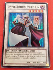 HYPER BIBLIOTHECAIRE T.G. REDU-FRSE1 EDITION LIMIT HOLO RARE Cartes Yu-Gi-Oh! VF
