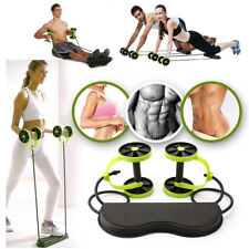 40 in 1 Portable Resistance Wheel Roller Abdominal Workout Fitness Yoga Abs Core