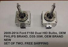 FORD F150 RH/LH XENON HID HEADLAMP HEADLIGHT BULBS 2009-2014