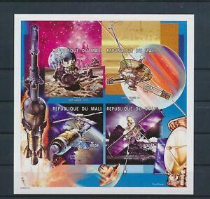 LO13103 Mali satellite rocket space imperf sheet MNH