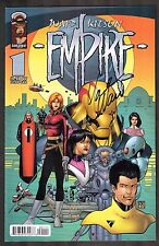 Empire #1 ~ signed by Waid ~ 2000 (9.0) WH