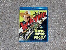 King of the Pecos Blu-ray 2013 Brand New Olive Films John Wayne