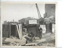 1932 ORIGINAL MANHATTAN PHOTO NYC HOMELESS CHARLETON STREETS HOMES