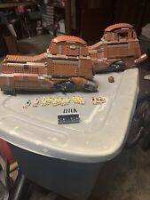 TWO lego star wars trade federation mtt 7662 (read Description!)