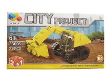 """Costruzioni Per Bambini Compatibili LEGO """"City Project"""" Educativi 6 anni più"""