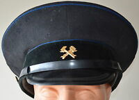 Soviet Union Russian USSR Army Military Technical Forces Visor Hat Peaked Cap
