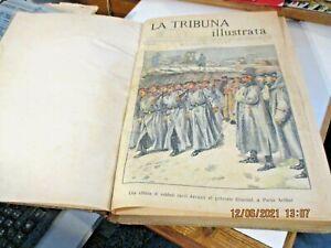 LA TRIBUNA ILLUSTRATA annata completa rilegata 1905 MOLTO BELLA