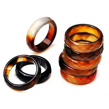 wholesale lots mixed 50pcs coffee color agate vogue lady's jewelry rings
