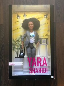 "Mattel Barbie Signature Yara Shahidi Doll Shero 12"" Inches Tall NEW & SEALED"