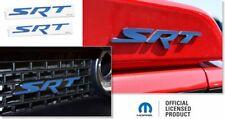 Srt Front Rear Emblem Overlay Decals Stickers - 2015-2016 Challenger Srt Hellcat