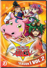 Yu-Gi-Oh Arc V: Season 1 - Vol 2 - 3 DISC SET (2017, REGION 1 DVD New)