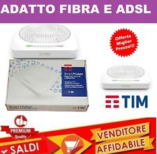 MODEM SMART ROUTER TIM  2017 TELECOM ADSL FIBRA OTTICA WIFI WIRELESS NUOVO