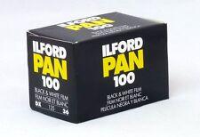 USD - 3 Rolls Ilford Pan 100 iso Black & White 35mm Film FreeShipping 135 36exp