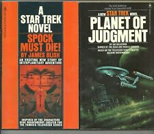Lot of 10 early Star Trek The Original Series original novels, 1977-1981, Bantam