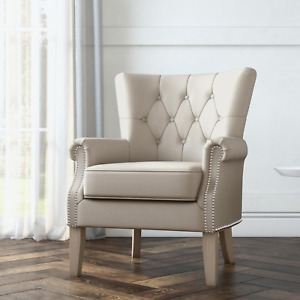 Better Homes Gardens Accent Chair Living Room  Home Office Beige