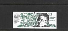 Gb 1995 Second World War #4 Folded £1 Stamp Booklet - Fh39 - Black Tab - Cyl B6