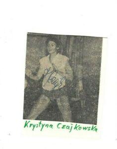 Krystyna Czajkowska - Polen  -  Olympia Bronze 1964 u. 1968   - Volleyball