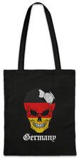Germany Football Skull I Shopper Shopping Bag german Soccer Flag World